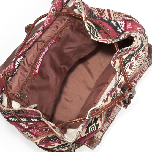 Unionbay Tribal Elephant Print Backpack
