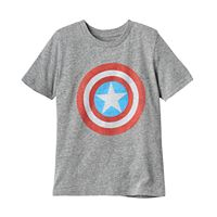 Boys 4-10 Jumping Beans® Marvel Captain America Logo Graphic Tee
