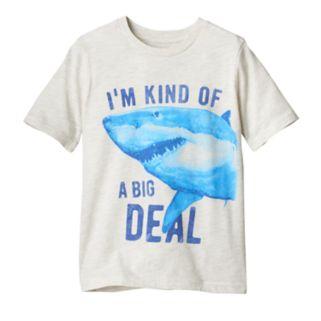 Boys 4-10 Jumping Beans® Shark Graphic Tee