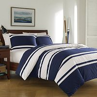 Poppy & Fritz Rylan Rugby Stripe Duvet Cover Set