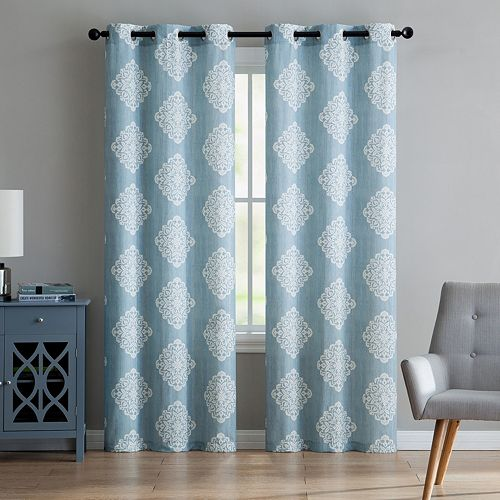 VCNY 2-pack Aria Window Curtains