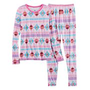 Disney's Frozen Anna & Elsa Girls 4-12 Baselayer Set by Cuddl Duds