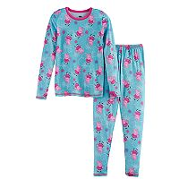 Girls 4-8 Cuddl Duds Peppa Pig Top & Bottoms