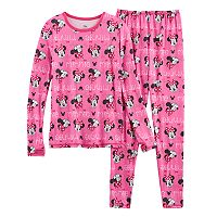 Disney's Minnie Mouse Girls 4-8 Baselayer Set by Cuddl Duds