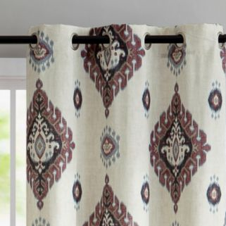 VCNY 2-pack Nola Printed Window Curtain