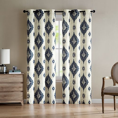 VCNY 2-pack Nola Printed Window Curtains