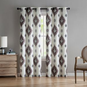 VCNY Home 2-pack Nola Printed Curtain