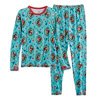 Disney's Elena of Avalor Girls 4-12 Baselayer Set by Cuddl Duds