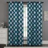 VCNY 2-pack Sorrento Metallic Window Curtain