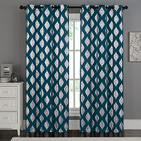VCNY 2-pack Sorrento Metallic Curtain