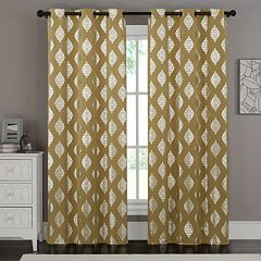 VCNY 2-pack Sorrento Metallic Window Curtains