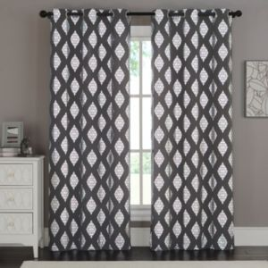 VCNY Home 2-pack Sorrento Metallic Curtain