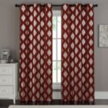 VCNY 2-pack Sorrento Metallic Window Curtains