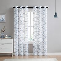 VCNY 2-pack Charlotte Embroidery Sheer Curtain