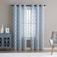 VCNY 2-pack Jolie Embroidery Sheer Curtain