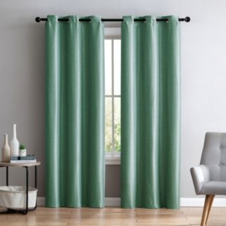 VCNY 2-pack Arlenis Faux Silk Blackout Window Curtain