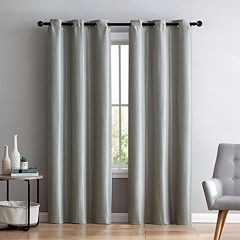 VCNY 2-pack Arlenis Faux Silk Blackout Window Curtains