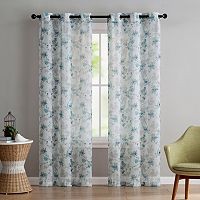 VCNY 2-pack Jasmine Semi Sheer Printed Curtain