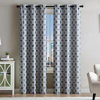 VCNY 2-pack Eli Jacquard Window Curtains