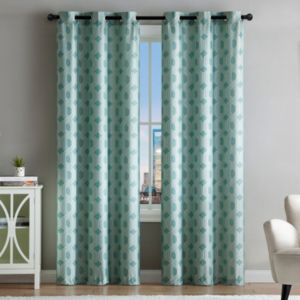 VCNY Home 2-pack Eli Jacquard Curtain