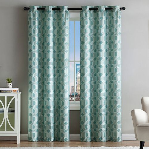 VCNY 2-pack Eli Jacquard Window Curtains