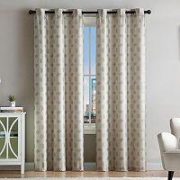 VCNY Eli Jacquard Window Curtain Set