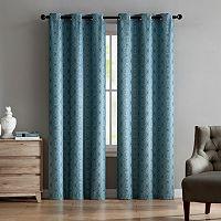 VCNY 2-pack Jade Jacquard Window Curtains