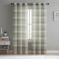 VCNY 2-pack South Hampton Sheer Curtain