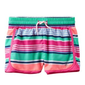 Baby Girl Carter's Print Active Shorts