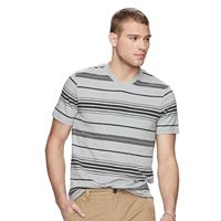 Men's Urban Pipeline® Striped MaxFlex V-Neck Tee