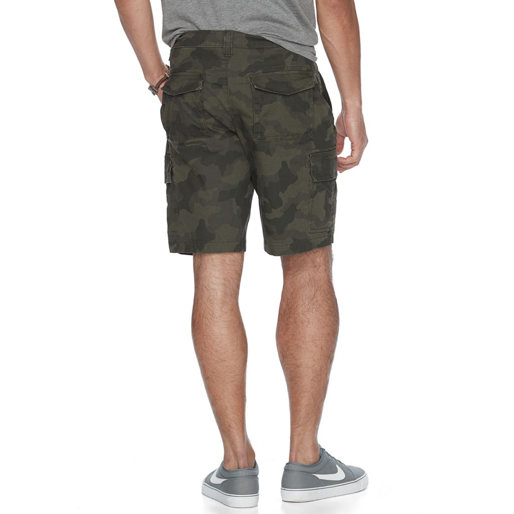 Men's Urban Pipeline® Ultimate Flex Canvas Hiker Cargo Shorts
