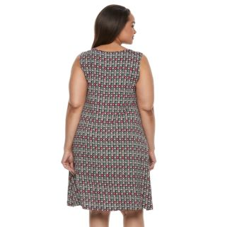 Plus Size Croft & Barrow® Pintuck Shift Dress