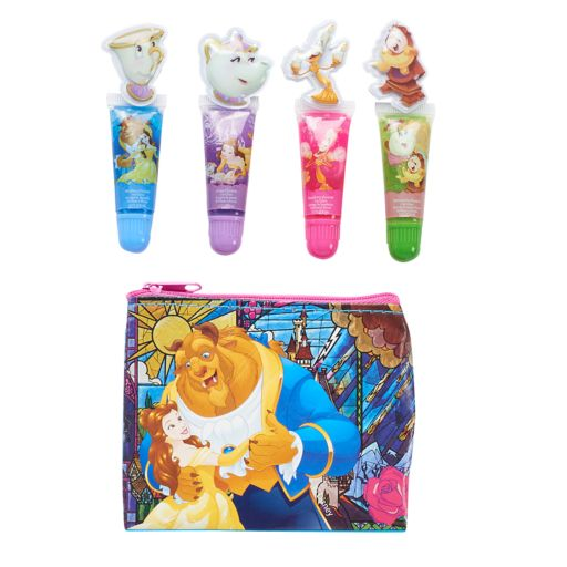Disney's Beauty and the Beast Girls 4-pk. Belle Lip Gloss with Zip Pouch