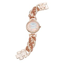 Akribos XXIV Women's Ornate Crystal Watch