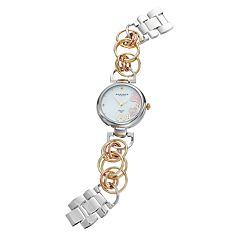 Akribos XXIV Women's Empire Diamond Floral Watch