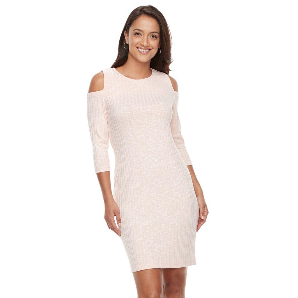 Women's Sharagano Cold-Shoulder Dress