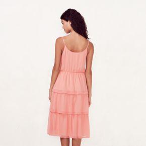 Women's LC Lauren Conrad Tiered Shift Dress