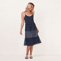 Women's LC Lauren Conrad Tiered Shift Dress