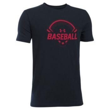 Boys 8-20 Under Armour Baseball Tee