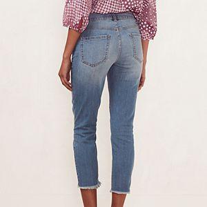 Women's LC Lauren Conrad Frayed Skinny Capri Jeans