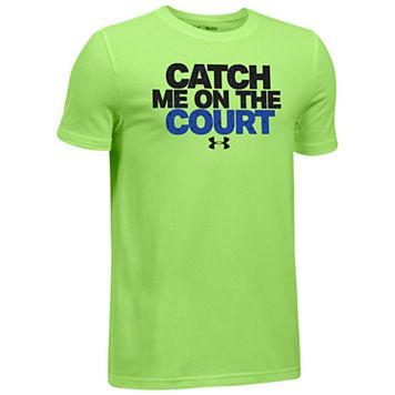 Boys 8-20 Under Armour Catch Me Tee