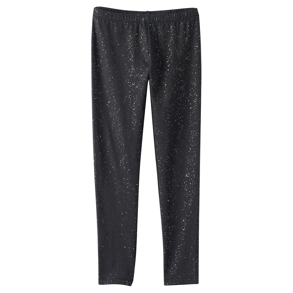 Girls 7-16 & Plus Size SO® Allover Glitter Leggings