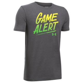 "Boys 8-20 Under Armour ""Game Alert"" Performance Tee"