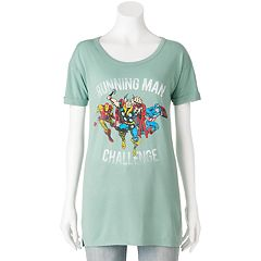 Juniors' Marvel Avengers 'Running Man Challenge' Graphic Tee