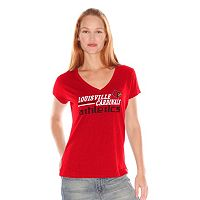 Women's Louisville Cardinals Fair Catch Tee