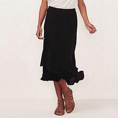 Women's LC Lauren Conrad Tiered Midi Skirt