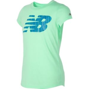 Girls 7-16 New Balance Graphic Tee
