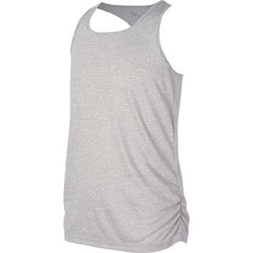 Girls 7-16 New Balance Fashion Striped Athletic Tank Top
