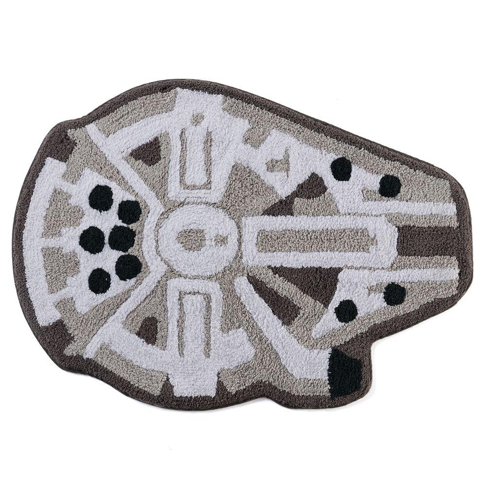 Star Wars Bath Mat.Star Wars Millennium Falcon Bath Rug