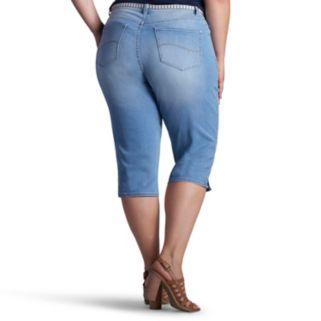 Plus Size Lee Maisie Jean Skimmer Capris